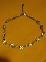 KENNY MA SAN FRANCISCO DESIGNER  BEAUTIFUL SWAROVSKI CRYSTAL FLORAL NECK... - $69.99