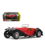 Bugatti Type 55 Red 1/24 Diecast Car Model by B... - $45.99