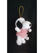 Plush Snoopy Christmas Ornament - $5.00