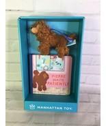 Manhattan Toy Pierre Waits Patiently Board Book Poodle Mini Dog Plush Gi... - $17.41