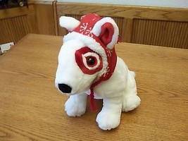 Target Dog ~ Bullseye ~ Stuffed Animal Wearing Hat  - $24.74