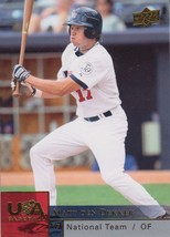 Matt Den Dekker 2009 Upper Deck Series 2 USA Baseball Card #USAB-MD - $0.99
