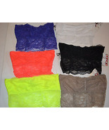 Bongo  Lace Bandeau Bra Tube Top Various Colors Sizes S or M or L NWT - $8.39