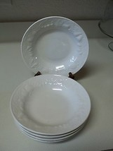 Tabletops Unlimited Set of 5 Embossed Bowls ~ Fruit Pattern  - $31.67