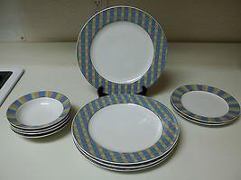 Studio Nova Show Case ~ 10 Piece Set ~ Plates & Bowls - $79.19