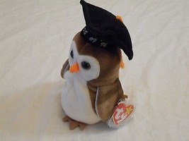 Ty Beanie Babies Wise The Owl Class of 98 - $6.92