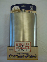 Huge 64oz Whiskey Flask Stainless Steel Wembley Overtime Flask Great Gift - €23,38 EUR