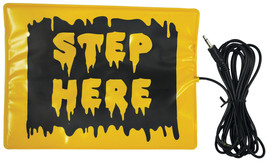 Step Here Pad Activates Animated Props Halloween MR122566 - £23.51 GBP