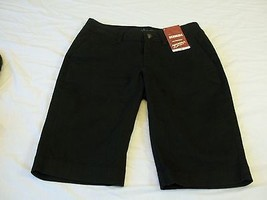 Arizona Jean Co. Women's Bermuda Shorts Black Size 1 NEW W Tags - $21.77
