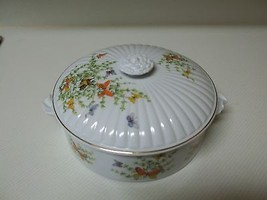 Beautiful Ecstacy Casserole Dish with Lid by the Stafford Co. ~ Butterflys  - $46.52