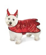 Dog Halloween Costume Sequin Devil Pet BRAND NEW Zack & Zoey - £19.09 GBP+