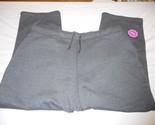 Women's Made For Life Athletic Pants French Terry Pants Sz 2X Relaxed Charcoal