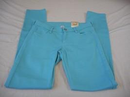 Women's Juniors Arizona Super Skinny Slender Fit Jeans Blue Curacao Sz 17 NEW - $26.72