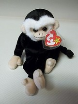 TY RARE MOOCH The Monkey Beanie Baby with 2 Tag Errors Mint - $29.70