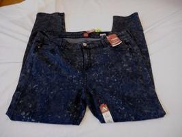 Women's Juniors Plus Arizona Super Skinny Leg Jegging Dark Moon Sz 18 NEW - $31.67
