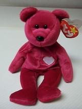 TY Valentina Bear 1998 Retired Original Beanie Baby Tag Error Mint Condi... - $24.75