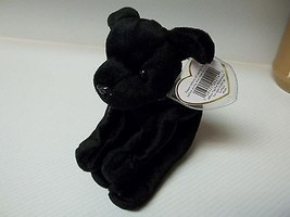 TY Luke the Black Lab Beanie Baby MINT Condition with ERROR - $24.75