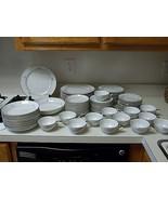 Mikasa Chadsworth Fine China ~ 80 Piece Set ~ Plates Bowls Cups NICE!!! - $445.49