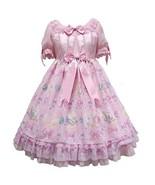 Angelic Pretty Jewel Marine OP Onepiece Dress Pink Sweet Lolita Japanese Fashion - $279.00