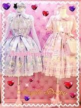 Angelic Pretty Jewel Marine OP Onepiece Dress Pink Sweet Lolita Japanese Fashion image 3