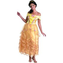 Belle Deluxe Costume - Large - Dress Size 12-14 - $54.75