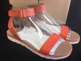 Ugg Australia Laddie Women's Ankle Strap Fire Opal Sandal 1015817 10 11 shoes - $69.99