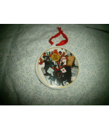 2001 Bus Stop Shoppers  / Seasons Greetings Christmas Ornament ,  - $5.00