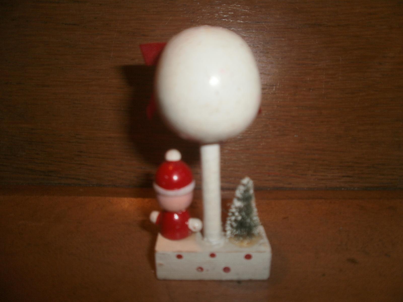 Christmas Decoration , Santa , Bottle  Brush Tree