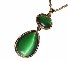 Witches Of East End Wendy's Necklace Green and Orange Fashion Necklace f... - $7.99+