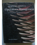 Operations Management Strategy And Analysis 2nd... - $46.57