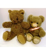Lot of 2 Vintage Teddy Bears: Tiere Mit Herz - Austria & Bauer - Germany - $22.98