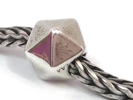 Authentic Trollbeads Sterling Silver Water Bead Charm 11352, New - $37.99