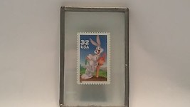 BUGS BUNNY STAMP 32 CENT US POSTAGE LOONEY TUNES CARTOON RABBIT 1997 USP... - $1.97