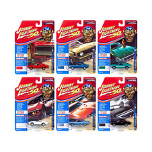 Muscle Cars USA 2019 Release 1, Set A of 6 Cars Class of 1969 1/64 Dieca... - $59.32