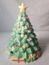 Vintage Precious Moments Christmas Tree Cookie Jar Enesco 2005 - $35.59