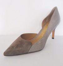 Vince Camuto Signature Ballie Pointed Toe D'Orsay Pump Shoes Sz 10 M Cement $250 - $118.75