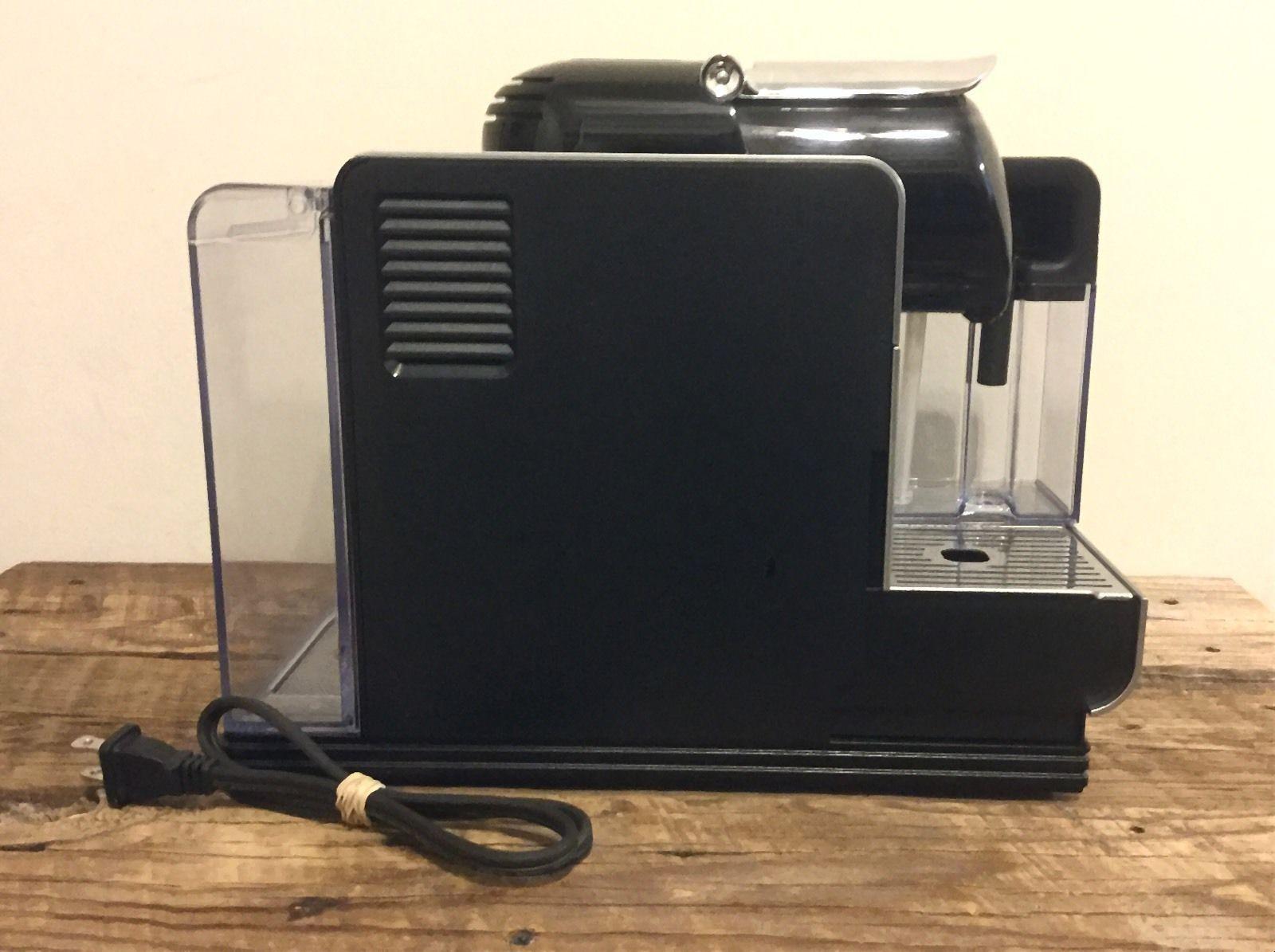 delonghi lattissima plus en520s nespresso capsule espresso cappuccino maker espresso machines. Black Bedroom Furniture Sets. Home Design Ideas
