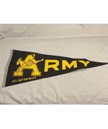 Vintage Army Go Get Em Mule Felt Pennant West P... - $37.39