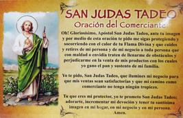 CEDULA DE SAN JUDAS CON ORACION DEL COMERCIANTE- 03258