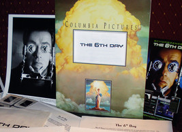 'The 6th Day' Movie Press Kit - Sci-Fi With Arnold Schwarzenegger  - $17.95