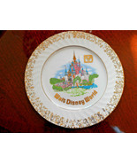 Walt Disney World Pink Castle Gold Trim Vintage... - $17.15