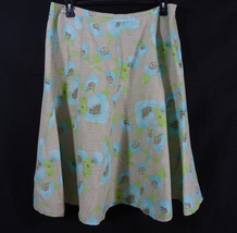 J. Marco Floral Skirt Size 18 Business/ Work/ Casual/ Church - $9.95