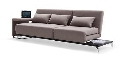 JH033 Grey Fabric Sofa Bed