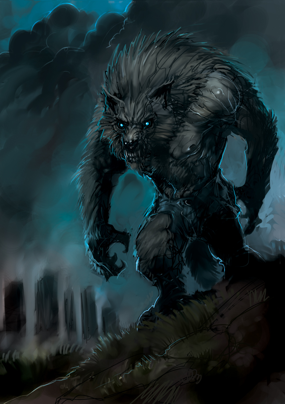 Haunted : Alpha Werewolf of Strength : Male Powerful Capable – Blood Werewolf
