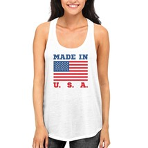 Made In USA Tank Top for July 4th Celebration American Flag Tanks - $14.99