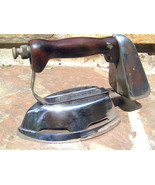1930s Akron Lamp Company Diamond Brand Gas Clothes Pressing Iron BZ - $169.99