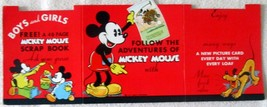 Disney's Mickey Mouse Bread Cards counter display near mint circa 1929-1938 - $695.00