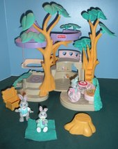 Vintage Fisher Price #74733 Bunny Home COMPLETE w/ Instructions/EXC++! (C)  image 2