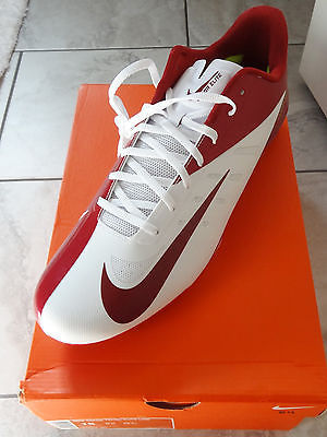 NIKE SF 49ER`S VAPOR TALON ELITE LOW TD MENS FOOTBALL CLEATS $180 500068 161
