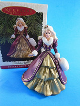 Holiday Barbie #4 1996 Hallmark Series Ornament By Patricia Andrews Mint In Box - $6.92